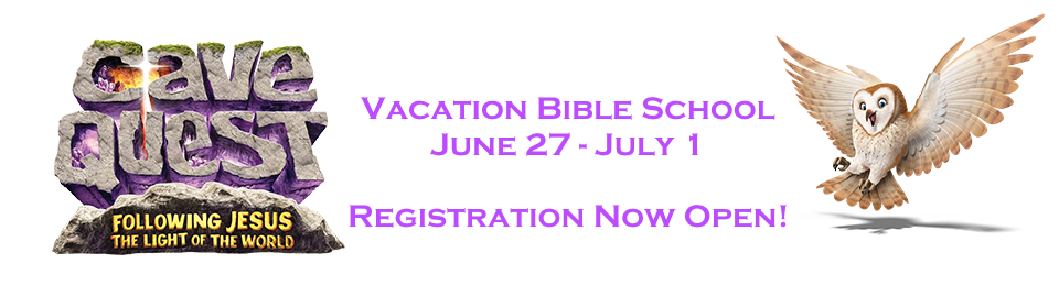Register Now for VBS June 27 - July 1, 2016